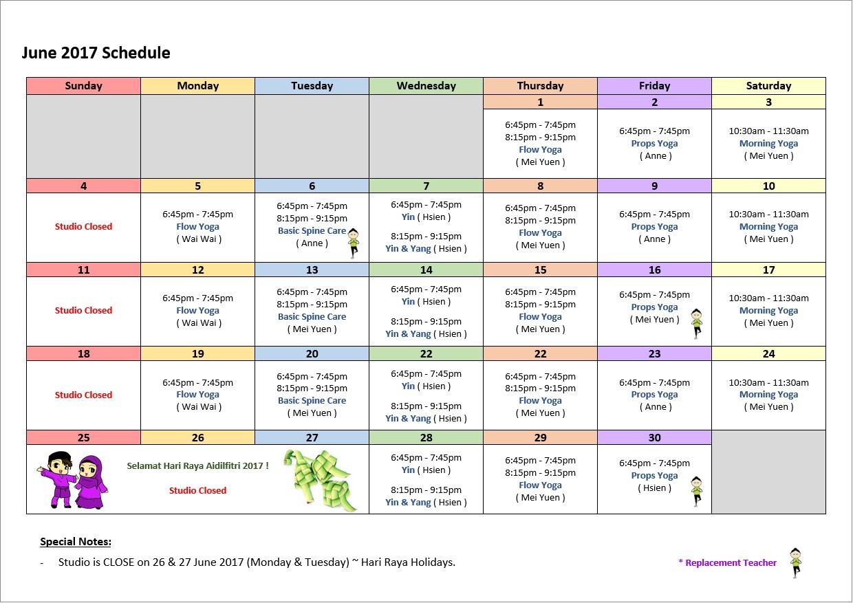 2017-06-schedule